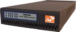 NOVUS H.264 / MPEG-4 Broadcast Encoder Front Picture
